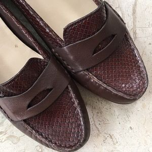 Cole Haan Shoes - Cole Haan Penny Loafer Brown Leather NikeAir New
